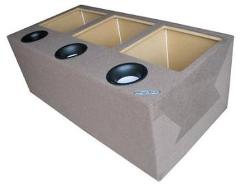 Subwoofer enclosures 15 boxes ground shaker gspkk315 for L ported speaker box