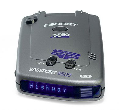 Escort 8500 x50 blue radar